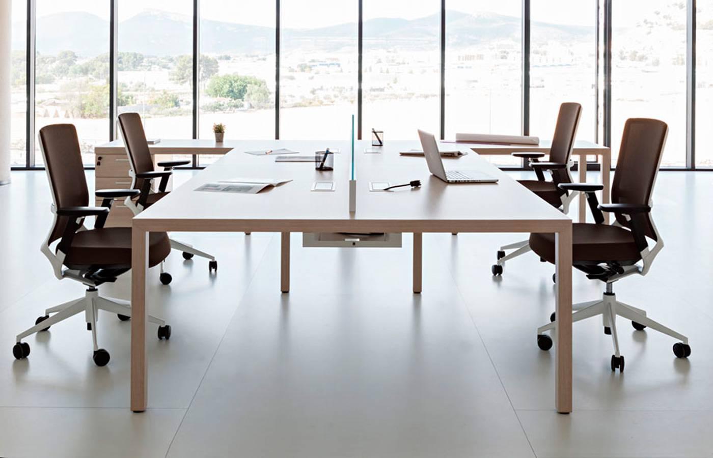 Mesas de reuniones el lugar donde se generan las ideas for Mesas para oficina precios