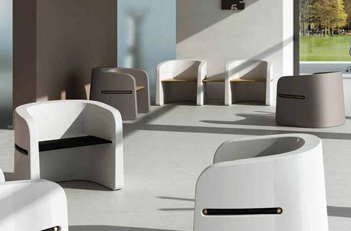 Sillas de sala de espera muebles importantes para la zona for Muebles sala de espera