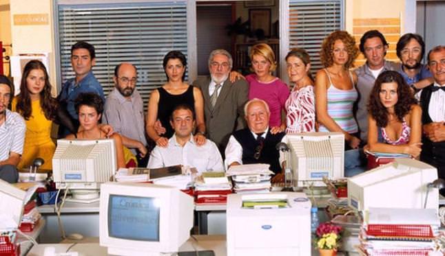 oficinas series tv - periodistas