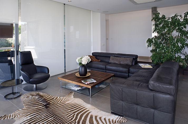 cortinas para oficinas modernas
