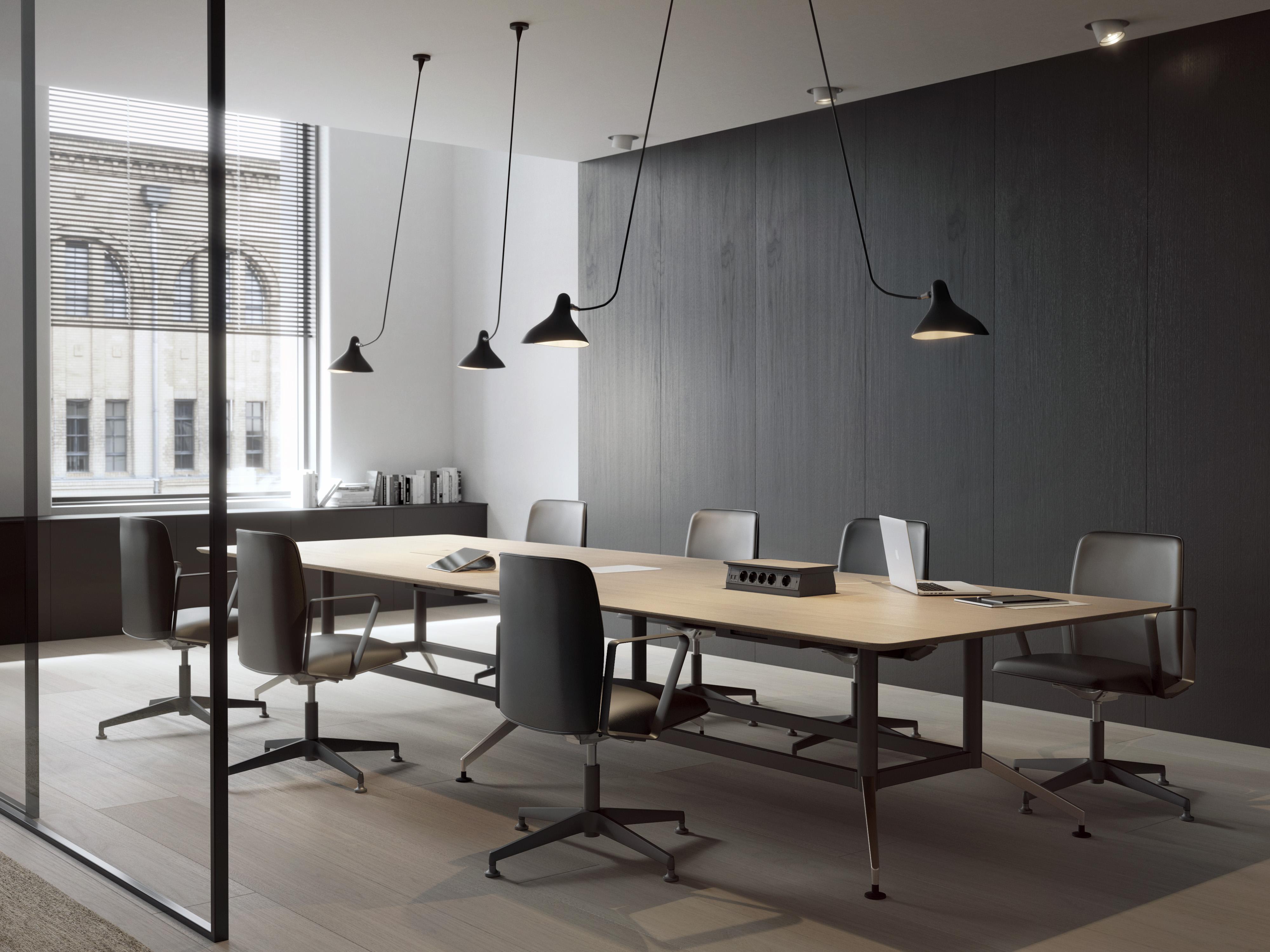 Consejos para decorar un despacho de abogados spacio for Mesas de despacho modernas